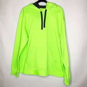 C9 Champion Hoodie XL Neon Lime Green Sweatshirt